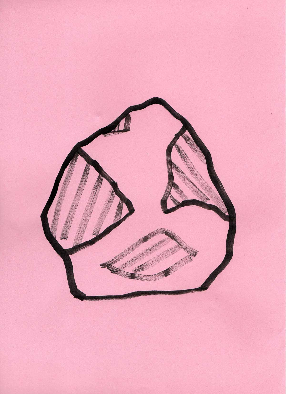 Jo Willoughby Pink Drawing