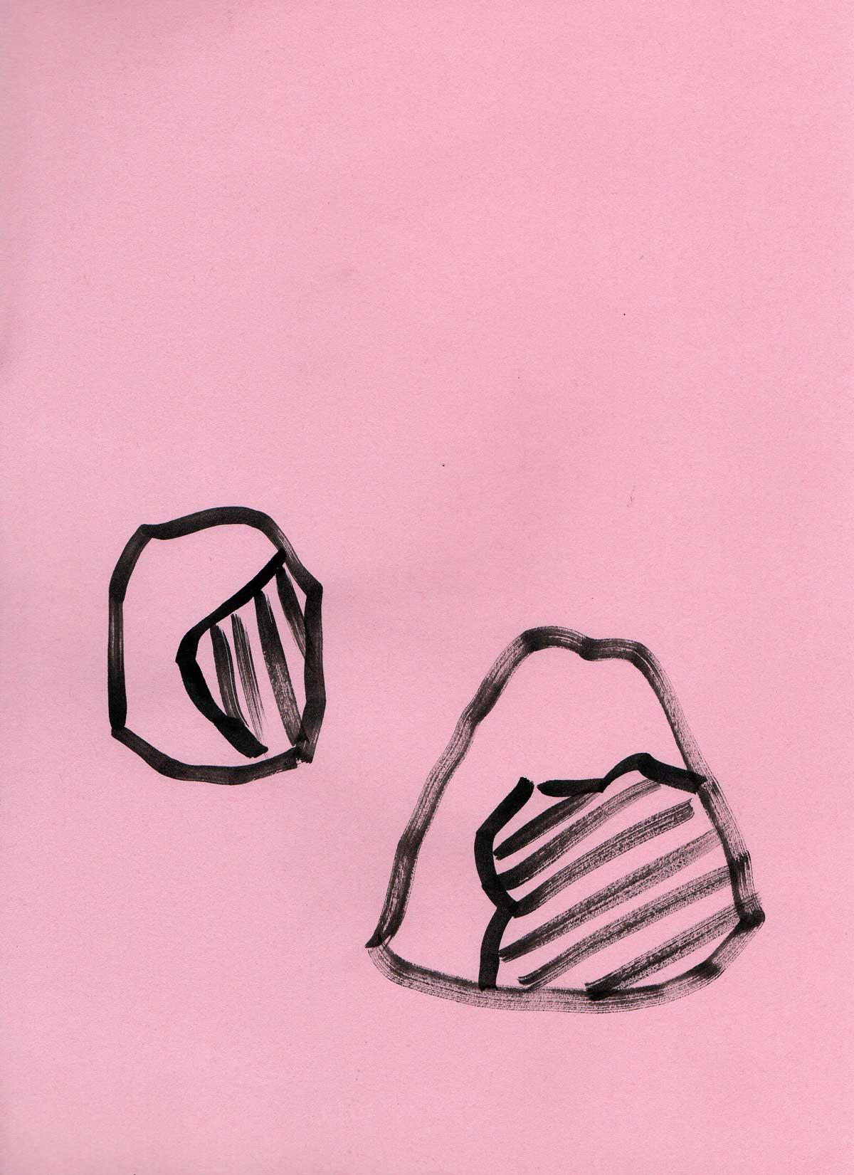 Jo Willoughby Pink Drawing 2